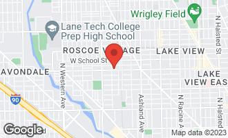 Map of 1836 West Belmont Avenue #3 CHICAGO, IL 60657