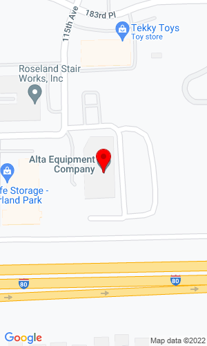 Google Map of Martin Implement Sales, Inc. 18405 115th Avenue, Orland Park, IL, 60467