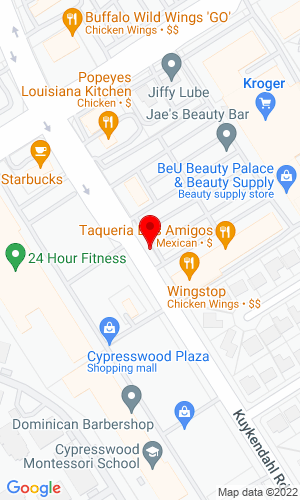 Google Map of SITE Auction Services 18482 Kuykendahl Rd, Spring, TX, 77379