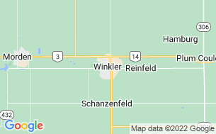 Map of Winkler Tourist Park