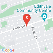 Road Map of 187 W Finch Ave, Toronto, On