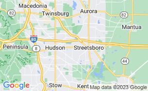 Map of Streetsboro/Cleveland SE KOA