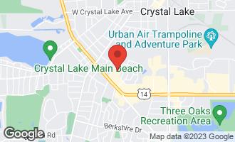 Map of 187 Uteg Street 103B CRYSTAL LAKE, IL 60014
