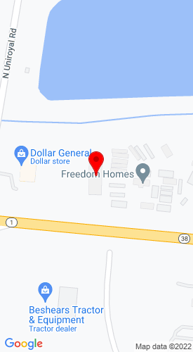 Google Map of Bobcat of Opelika 1870 Columbus Parkway, Opelika, AL, 36804