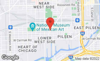Map of 1870 South Blue Island Avenue CHICAGO, IL 60608