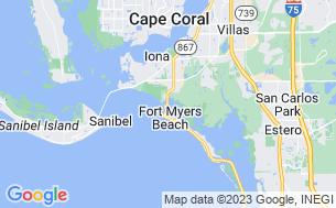 Map of San Carlos RV Park & Islands