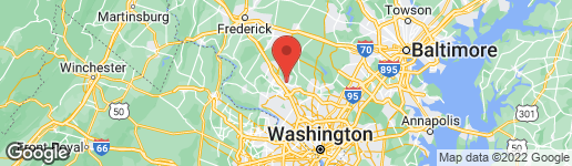 Map of 18728 WALKERS CHOICE ROAD #4 GAITHERSBURG, MD 20886