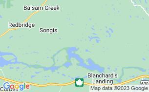 Map of Camp Conewango