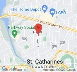 Google Map of 188+Lake+Street%2CSt+Catharines%2COntario+L2R+5Z1