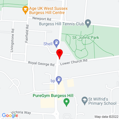 Google Map of 188 London Road, West Sussex, RH15 8LL