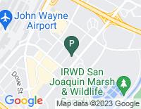 Google Map of 18818 Teller Avenue, Irvine CA