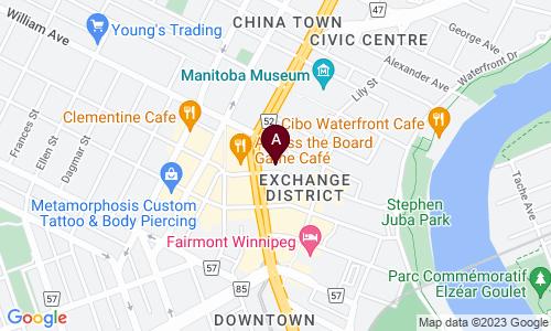 map of JW MCDONALD AUTO SERVICE