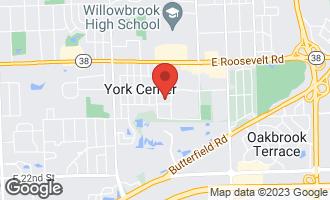 Map of 18W237 Standish Lane VILLA PARK, IL 60181