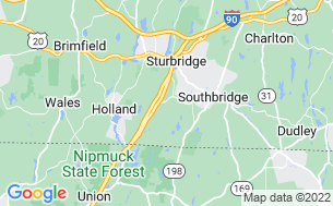 Map of MHC Sturbridge LLC