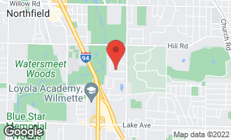 Map of 19 Meadowview Drive NORTHFIELD, IL 60093