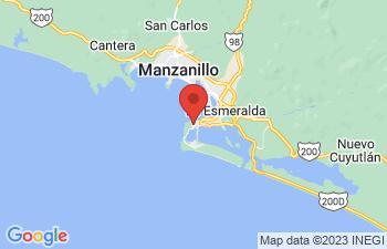Map of Manzanillo