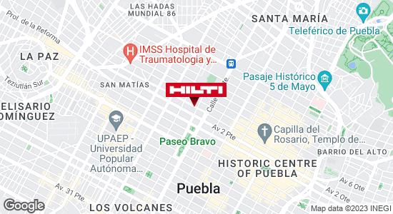 Obtener indicaciones para Ocurre Paqex Puebla (Colonia Centro)