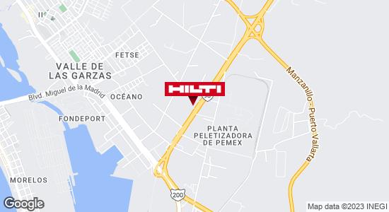 Obtener indicaciones para Ocurre Paqex Manzanillo