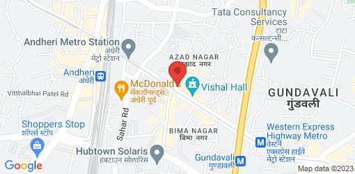 Directions to Pallavi Veg Restaurant