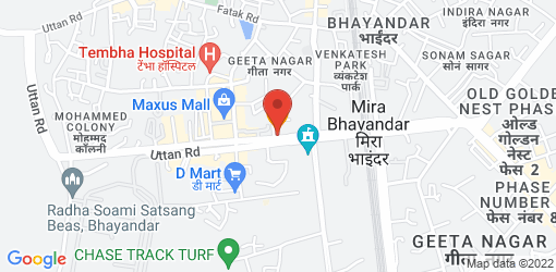 Directions to Veg Saagar Restaurant and Party Hall