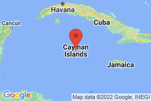 Map of North Shore Grand Cayman
