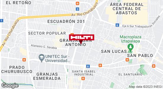 Obtener indicaciones para Ocurre Paqex México (Iztapalapa)