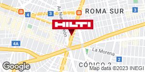 Obtener indicaciones para Tienda Hilti Condesa