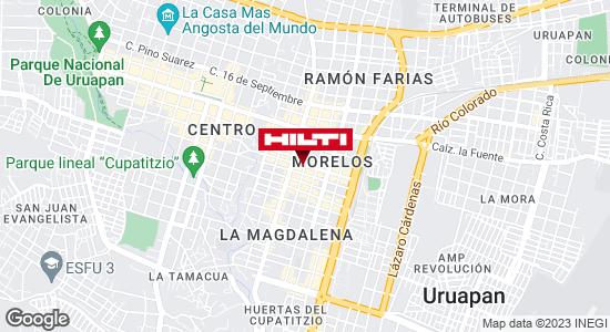 Obtener indicaciones para Ocurre Paqex Uruapan
