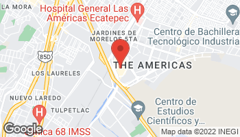 Map of Avenida Central Hank Gonzalez S/N  Fracc. in Ecatepec de Morelos