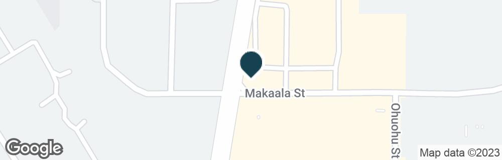 Google Map of301 E MAKAALA ST