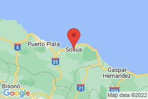 Map of Sosua