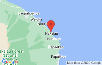 Map of Hakalau