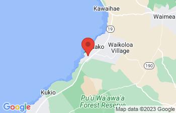 Map of Waikoloa Beach