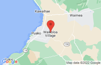 Map of Waikoloa Beach