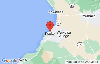 Map of Waimea - Kamuela