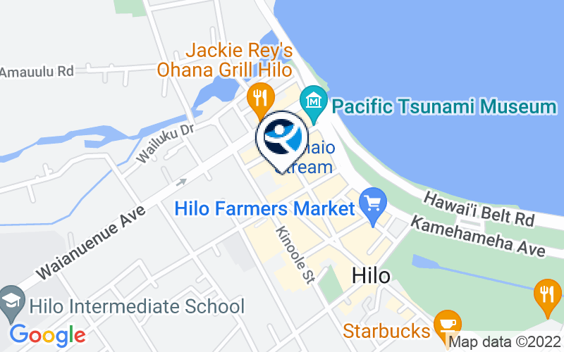CARE Hawaii Hilo Care Dual IOP Location and Directions