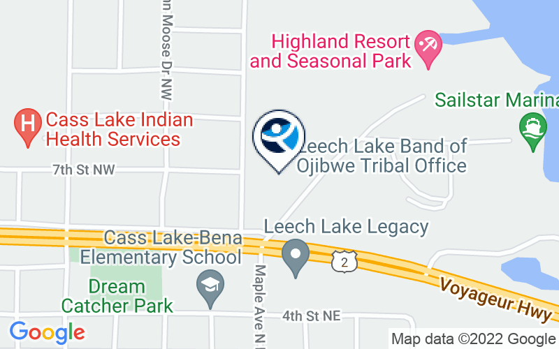 Leech Lake - Opioid Treatment Location and Directions