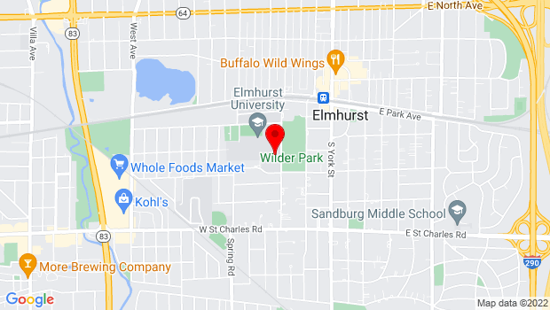 Google Map of 190 Prospect Ave, Elmhurst, IL 60126