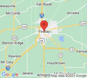 Job Map - 1900 S MAIN ST Findlay, Ohio 45840 US