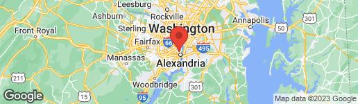 Map of 1901 Mount Vernon Avenue Alexandria, VA 22301