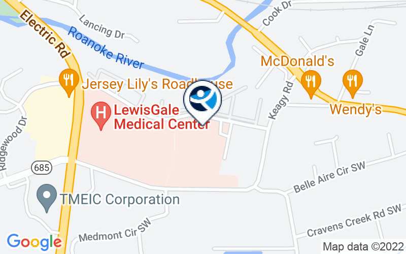 LewisGale Center - Behavioral Health Location and Directions