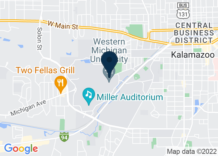 Map of 1903 W Michigan Ave, Kalamazoo, MI 49008-5408, United States
