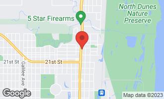 Map of 1905 Sheridan Road ZION, IL 60099