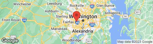 Map of 1907 ROOSEVELT STREET N ARLINGTON, VA 22205
