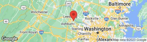 Map of 19107 DALTON POINTS PLACE LEESBURG, VA 20176