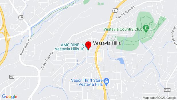 Google Map of 1911 Kentucky Avenue, Birmingham, AL 35216