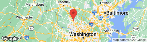 Map of 19111 CANADIAN COURT MONTGOMERY VILLAGE, MD 20886