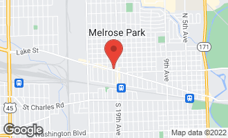 Map of 1913 West Lake Street MELROSE PARK, IL 60160