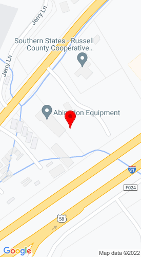Google Map of Abingdon Equipment Co., Inc. 19138 Lee Hwy, Abingdon, VA, 24210