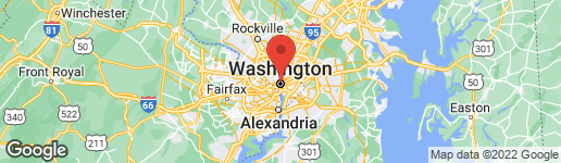 Map of 1915 16TH STREET NW #203 WASHINGTON, DC 20009